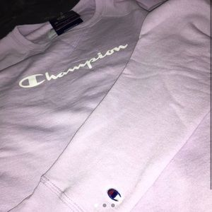 Light purple brand new Champion sweatshirt